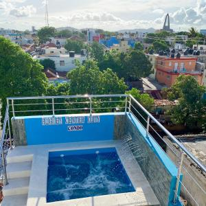 The swimming pool at or close to Higuey Center City