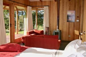 Zona de estar de Lodge El Mirador De Guadal