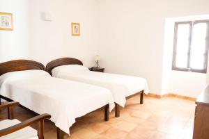 Cama o camas de una habitación en Can Font