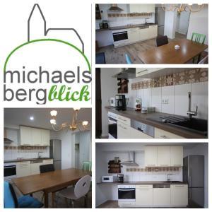 A kitchen or kitchenette at Michaelsbergblick