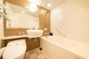 A bathroom at Richmond Hotel Asakusa