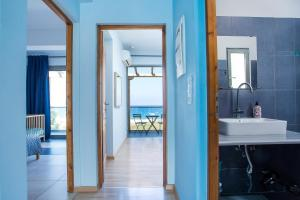 Łazienka w obiekcie Rhodes Sea Villas