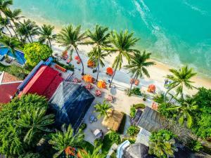 Een luchtfoto van Secret Garden Beach Resort