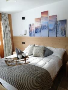 Area soggiorno di Edelweiss Hotel Champoluc