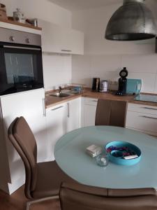 Küche/Küchenzeile in der Unterkunft Graf's Apartment Sankt Englmar
