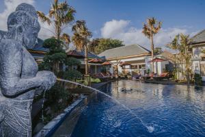 The swimming pool at or near LGood Lembongan Island Villas
