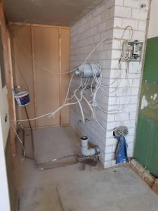 Ein Badezimmer in der Unterkunft Graf's Apartment Sankt Englmar