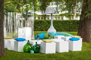 Children's play area at Novotel Breda