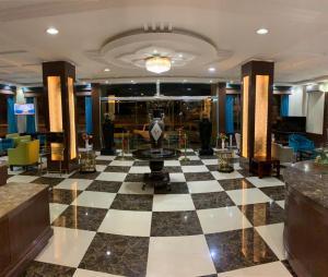 O saguão ou recepção de Le Park Concord Hotel