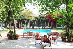 The swimming pool at or near Hotel Meghniwas