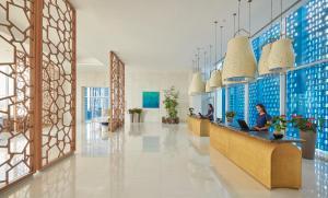 The lobby or reception area at Hyatt Regency Aqaba Ayla Resort