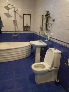 Um banheiro em Minaal Hostel