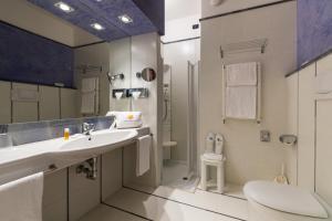 Een badkamer bij Art&Park Hotel Union Lido