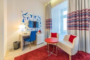 Zona de estar de Estilo Fashion Hotel Budapest