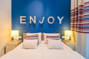 Cama o camas de una habitación en Estilo Fashion Hotel Budapest