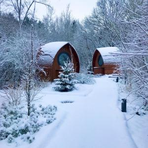 Glamping Resort Biosphäre Bliesgau im Winter