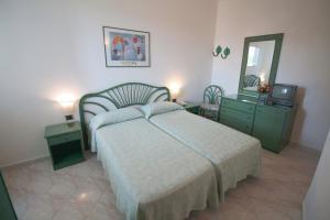 Letto o letti in una camera di Hotel Terme Park Imperial