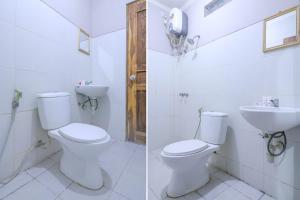A bathroom at Vaccinated Staff - OYO 1670 Likko Inn