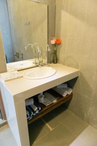 A bathroom at The Ocean Residence Langkawi