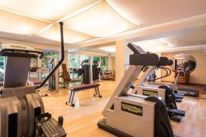 Das Fitnesscenter und/oder die Fitnesseinrichtungen in der Unterkunft Michels Apart Hotel Berlin