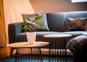A seating area at Apartmenthaus Feldberg