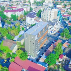 A bird's-eye view of RIN Central Hotel