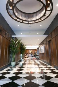 The lobby or reception area at Hotel Belleclaire Central Park