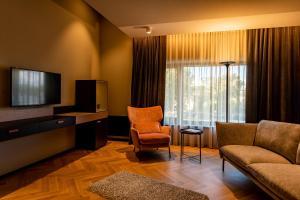 Atpūtas zona naktsmītnē Maestro Design Hotel