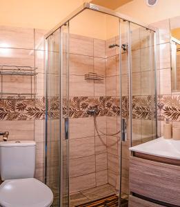 Kúpeľňa v ubytovaní Apartmany Veverica