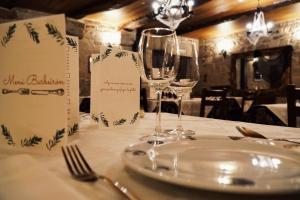 Pazo Barbeirón Slow Hotel Ribeira Sacra餐廳或用餐的地方