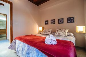 Cama o camas de una habitación en Apartamento centro Sevilla