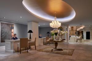 The lobby or reception area at Palace Elisabeth, Hvar Heritage Hotel