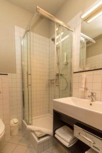 Ein Badezimmer in der Unterkunft Strandhotel Senftenberger See