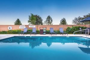 The swimming pool at or near Fairfield Inn & Suites Redding