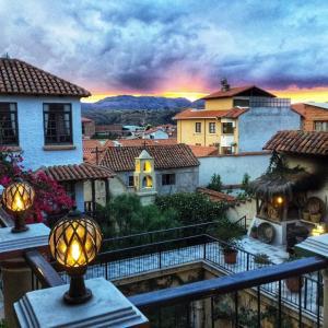 A balcony or terrace at Mi Pueblo Samary Hotel Boutique
