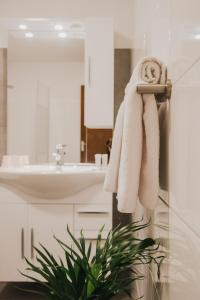 A bathroom at Hotel Riche