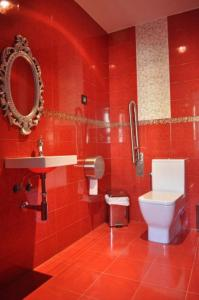 A bathroom at El Rincón Del Convento