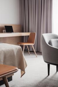 Een zitgedeelte bij Copenhagen Admiral Hotel