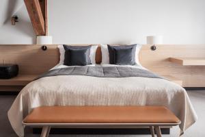 Een bed of bedden in een kamer bij Copenhagen Admiral Hotel