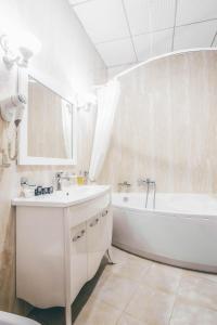 A bathroom at Black Sea Hotel Kiev