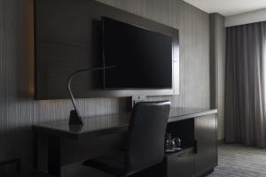 A television and/or entertainment center at Chicago Marriott Schaumburg