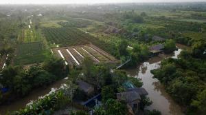 A bird's-eye view of Nguyen Shack - Mekong Can Tho