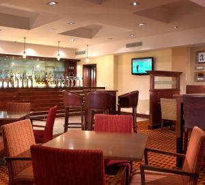 The lounge or bar area at Grand Hotel Gosforth Park