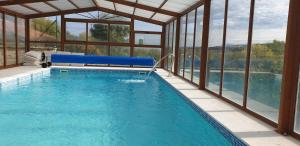 The swimming pool at or near CASA RURAL EL PILON