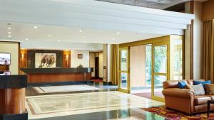 The lobby or reception area at Grand Hotel Gosforth Park
