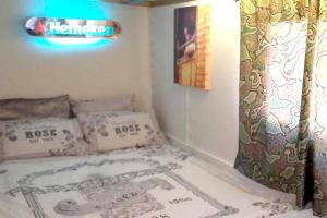 A bed or beds in a room at Holiday home Carrer Cabrils