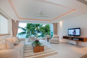 Et opholdsområde på Panu Luxury Apartment