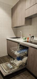 Cucina o angolo cottura di Aparthotel ParKHo