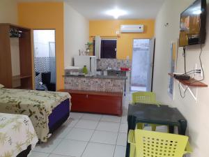 A cozinha ou cozinha compacta de Recanto Cruzeiro