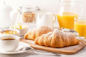 Breakfast options available to guests at VOI Colonna Village